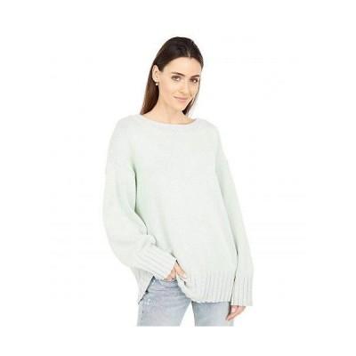 Free People フリーピープル レディース 女性用 ファッション セーター Street Fair Tunic - Lime Grey Combo