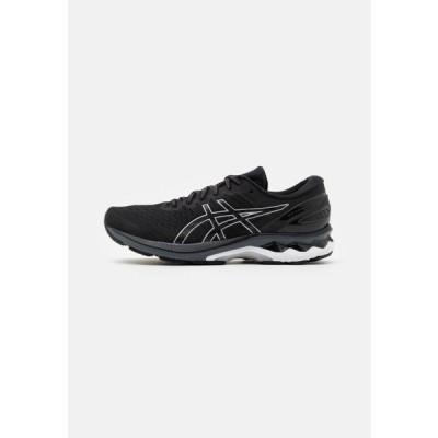 アシックス メンズ スポーツ用品 GEL KAYANO 27 - Stabilty running shoes - black/pure silver