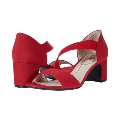 LifeStride ライフストライド レディース 女性用 シューズ 靴 ヒール Calia - Red