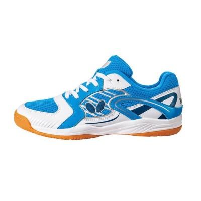 卓球シューズ BUTTERFLY LEZOLINE JL 2 レゾライン JL 2 スカイ21.5 cm 卓球 靴