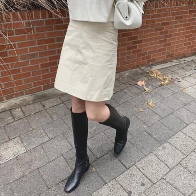 WONLOG レディース スカート Simple Cotton Skirt