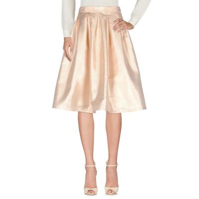 FOREVER UNIQUE 7分丈スカート プラチナ 6 100% ポリエステル 7分丈スカート