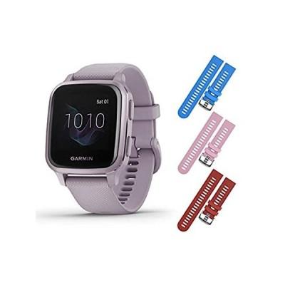 特別価格Garmin Venu Sq GPS Fitness Smartwatch and Included Wearable4U 3 Straps Bund好評販売中
