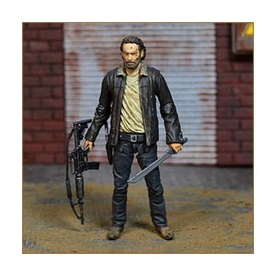 GGYY TV: The Walking Dead-Rick Grimes Action Figure Vinyl Figure and Exquisite Box Collection Showcase Decorative Toys Popular Characters 5 inches (Or