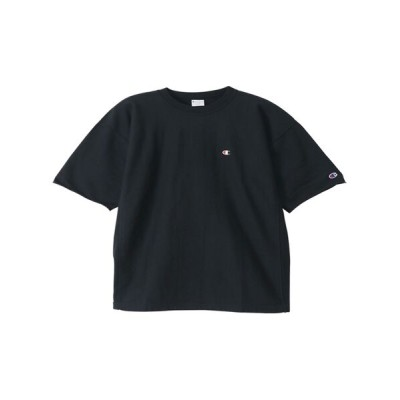 Champion/チャンピオン リバースウィーブ ショートスリーブクルーネックスウェットシャツ ブラック XL