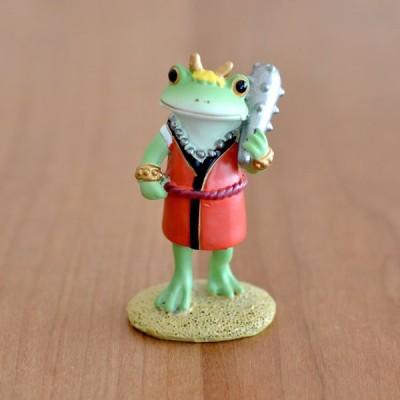 カエル 置物 鬼タロウ Copeau コポー カエル グッズ 玄関 かえる カエルの置物 蛙 マスコット リビング 雑貨 かわいい 癒し ギフト クッチーナ