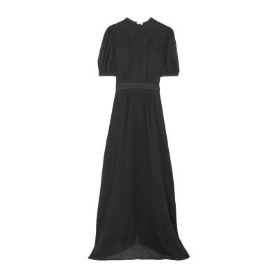 MATIN ロングワンピース&ドレス ブラック 6 コットン 100% ロングワンピース&ドレス