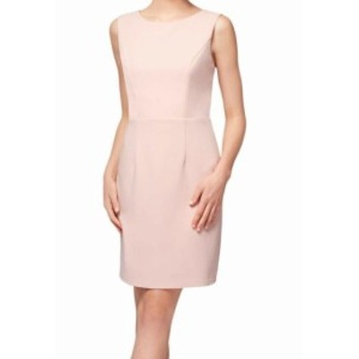 Betsey Johnson ベッツィージョンソン ファッション ドレス Betsey Johnson Womens Dress Blush Pink Size 10 Sheath Seamed Crepe