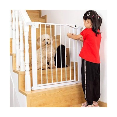 MSG New Pet Safety Gate Isolation Bar Stairway Guardrail Safety-Lock Stable and Sturdy Non-Punching Convenient to Install 11.28 (Size : 42cm