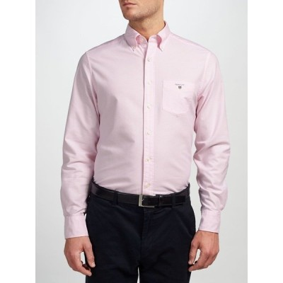 ガント シャツ メンズ トップス GANT Regular Fit Plain Oxford Shirt