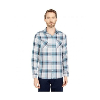 TravisMathew トラビスマシュー メンズ 男性用 ファッション ボタンシャツ Take It Easy - Heather Sleet