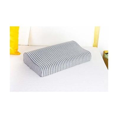 枕 低反発 高反発 枕カバー 形状記憶 安眠 人気 まくら 抗菌防臭 頚椎安定 通気性抜群50*30*9~11CM (枕カバー)