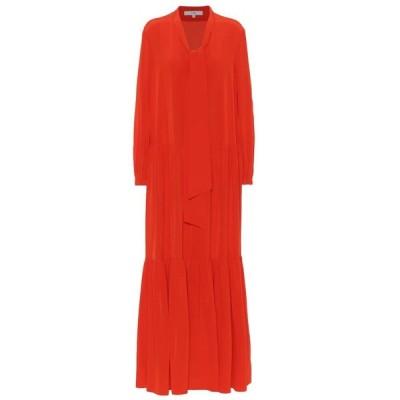 ティビ Tibi レディース ワンピース ワンピース・ドレス silk-crepe dress Blood Orange