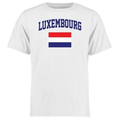 ファナティクス ブランデッド メンズ Tシャツ トップス Luxembourg Flag T-Shirt