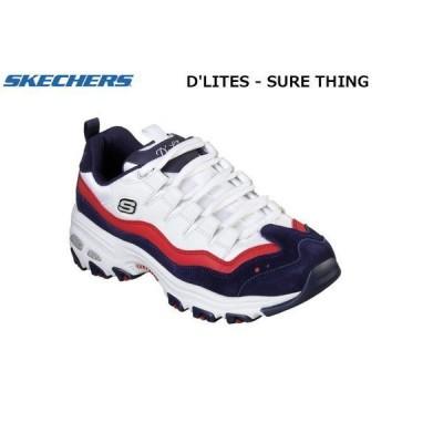 スケッチャーズ ディライト シュア シングス SKECHERS D'LITES SURE THING レディース スニーカー