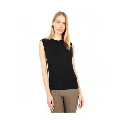 Vince ヴィンス レディース 女性用 ファッション ブラウス Draped Shell - Black