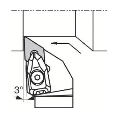 京セラ 外径加工用ホルダ DDJNR2020K−1506 1本 (メーカー直送)