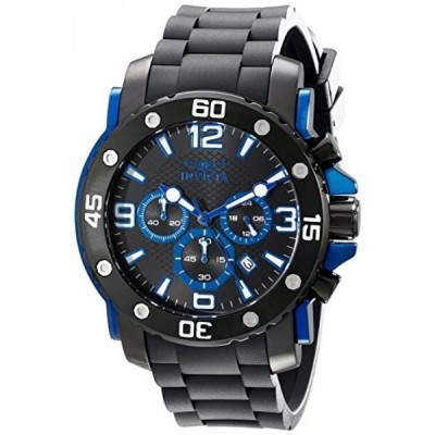 インビクタ 腕時計 メンズウォッチ Invicta Men's 18169 Pro Diver Analog Display Japanese Quartz Black Watch