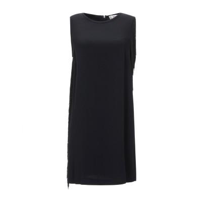 ジャッカ JUCCA ミニワンピース&ドレス ブラック 44 レーヨン 99% / ポリウレタン 1% ミニワンピース&ドレス