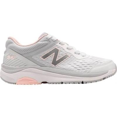 ニューバランス New Balance レディース ランニング・ウォーキング スニーカー シューズ・靴 847v4 Walking Sneaker Arctic Fox/Silver Mink/Peach Soda