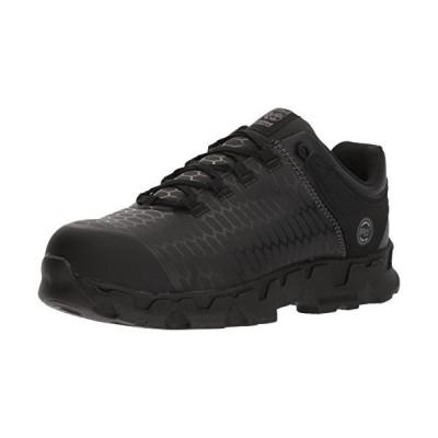 Timberland PRO Men's Powertrain Sport SD+ Industrial Shoe, Black, 7.5 M US