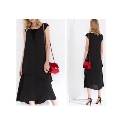 シンプル  パーティードレス フレアスカート ミモザ丈 レディース ワンピース お呼ばれドレス kh-0606