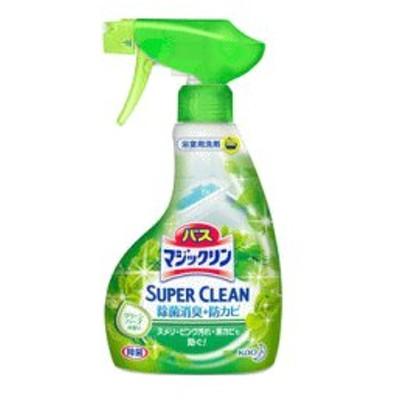 花王 バスマジックリン 泡立ちスプレー スーパークリーン グリーンハーブの香り 380ml