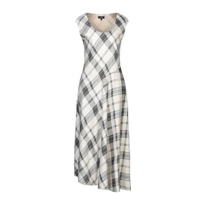 セオリー THEORY ロングワンピース&ドレス アイボリー 0 レーヨン 69% / シルク 31% ロングワンピース&ドレス