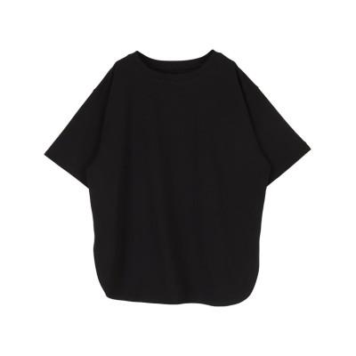 (titivate/ティティベイト)カットソービッグシルエットTシャツ/レディース ブラック
