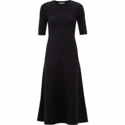 ガブリエラ ハースト Gabriela Hearst レディース ワンピース ミドル丈 ワンピース・ドレス Geneva wool-blend midi dress Black