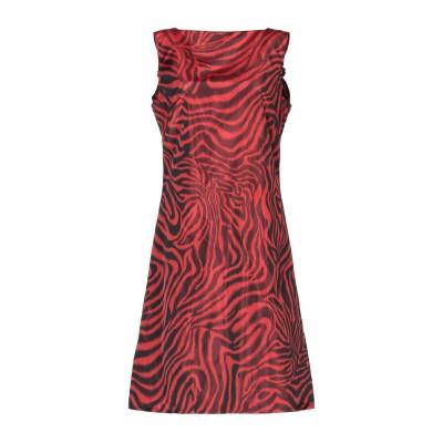 CALVIN KLEIN 205W39NYC ミニワンピース&ドレス レッド 40 ポリエステル 65% / シルク 35% ミニワンピース&ドレス