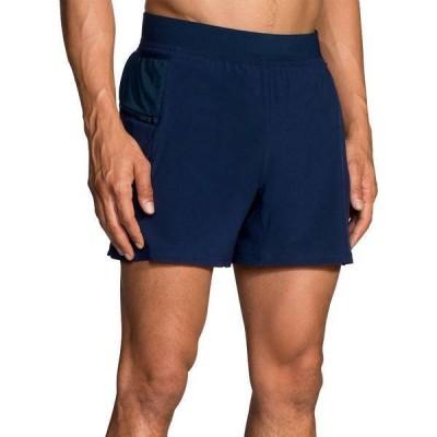 ブルックス メンズ ハーフパンツ・ショーツ ボトムス Brooks Men's Sherpa 5'' 2-in-1 Shorts