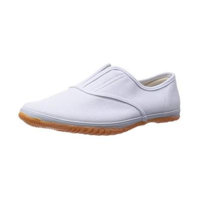 [キタ] 作業靴 スニーカー メガセーフティ 軽作業や室内作業に最適 DK-500 ホワイト JP 24.0(24cm)