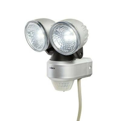 LED DAISHIN AC 高輝度センサーライト 2灯式 DLA-4T200 防犯 セキュリティー 照明 投光器【全国送料無料】エコ