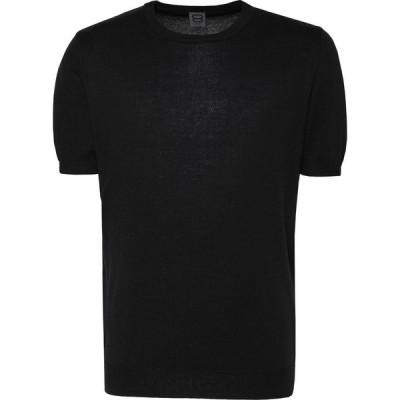 オット バイ ユークス 8 by YOOX メンズ ニット・セーター トップス sweater Black