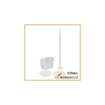 IRIS アイリスオーヤマ 回転モップ 手回しタイプ KMT−420 KMT-420