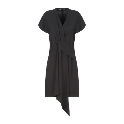 COMPAGNIA ITALIANA ミニワンピース&ドレス ブラック 40 ポリエステル 98% / ポリウレタン 2% ミニワンピース&ドレス