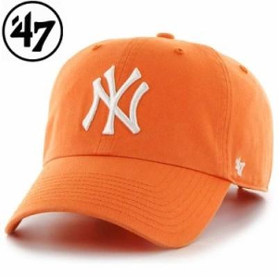 47 フォーティーセブン ヤンキース 47 クリーンナップ マンゴー メンズ レディース 野球 メジャー ヤンキース ベースボールキャップ メジ