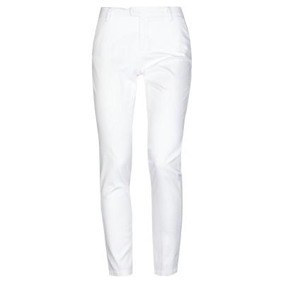 MICHAEL COAL パンツ ホワイト 31 コットン 98% / ポリウレタン 2% パンツ