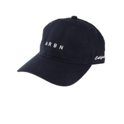 エアボーン(ARBN)帽子 メンズ キャップ ロゴキャップ ARBNACC-12001 NVY 日よけ