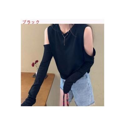 【送料無料】ニット 西洋風 レディース 夏 韓国風 ファッション 肩なし ルース 長袖 | 364331_A63382-0406150