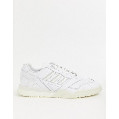 アディダス メンズ スニーカー シューズ adidas Originals A.R sneakers in white
