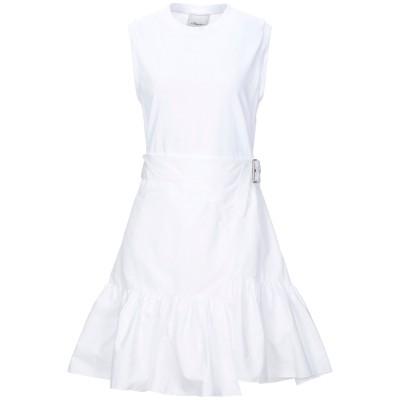 3.1フィリップリム 3.1 PHILLIP LIM ミニワンピース&ドレス ホワイト 2 コットン 100% / ポリウレタン ミニワンピース&ド