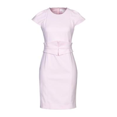 ジェニー GENNY ミニワンピース&ドレス ライトピンク 46 コットン 48% / ナイロン 46% / ポリウレタン 6% ミニワンピース&ド
