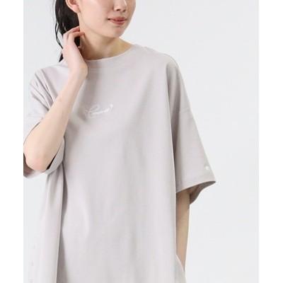 サイドスナップボタンTシャツ