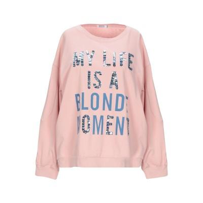 BRIGITTE BARDOT スウェットシャツ ピンク S/M コットン 100% スウェットシャツ