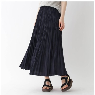 【ドレステリア/DRESSTERIOR 】 ミモレプリーツスカート