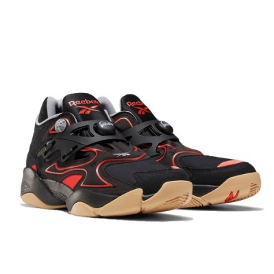 [リーボック] ポンプ コート [Pump Court Shoes] ブラック/インスティンクトレッド/リーボックラバーガム FW7821 日本国内正規品