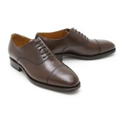 ビジネスシューズ 本革 ストレートチップ キャップトゥ メンズ 革靴 本革 クインクラシコ ドレスシューズ 2831dbr ブラウン(茶色) キャップトゥ