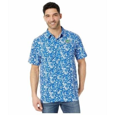 コロンビアカレッジ シャツ トップス メンズ Florida Gators CLG Super Slack Tide Shirt Azul